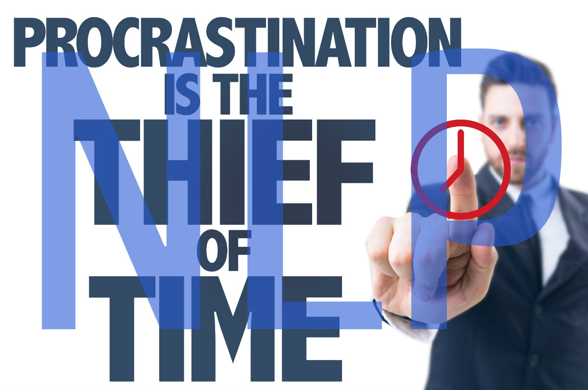 a thief of time is procrastination Procrastination is a not a thief of time, it is you you are responsible for the overwhelmed feeling that has become part of you you have been living off of a steady supply of adrenaline, and .