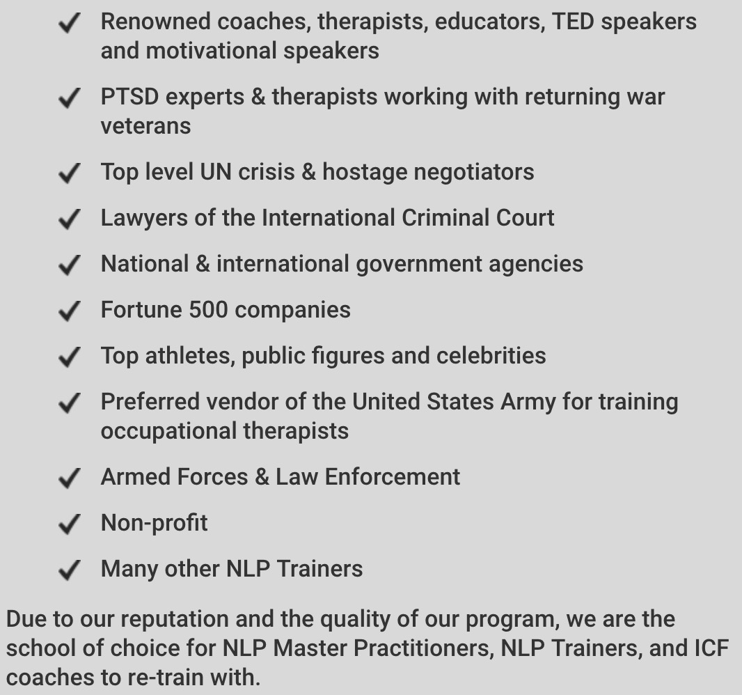 Our Track Record - Our Clients